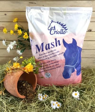 Criollo Mash - Palautumiseen ja herkälle vatsalle 15 kg