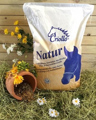 Criollo Natur - Mysliä, kauraton täysrehu 20 kg