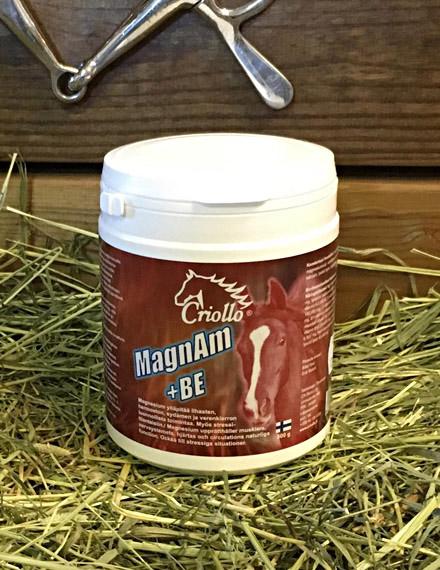 MagnAm+BE 500 g - rauhoittaa - lihaksille